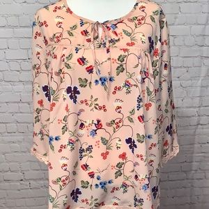 Tops - ☮️Floral Loose Blouse